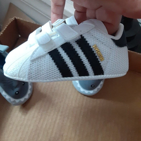 Infants size 2 superstar Adidas